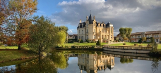 $ Based on 2 people per night | Luxurious 5* chateau in France's idyllic wine region, Chateau Hotel & Spa Grand Barrail, Saint-Emilion