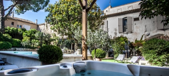 $ Based on 2 people per night | Tranquil Provence stay in a countryside villa, Villa Régalido, Fontvieille, France