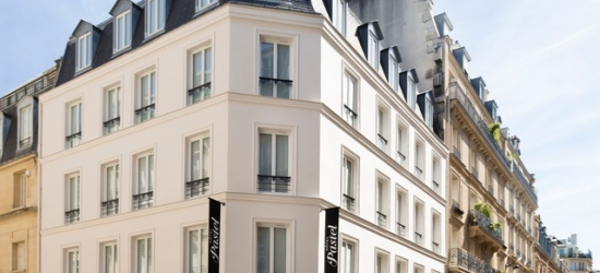 $ Based on 2 people per night | Lovely Paris pad near the Arc de Triomphe, Hotel Pastel, France