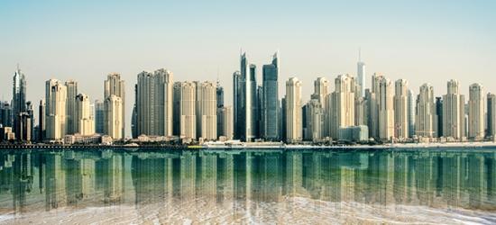 Based on 2 people per night   5* Dubai hotel with a rooftop pool, Mövenpick Hotel & Apartments Bur Dubai, UAE