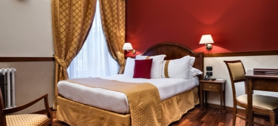 $ Based on 2 people per night | Classic Italian hotel in Milan's business district, Best Western Plus Hotel Felice Casati, Italy