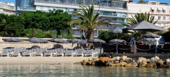 Based on 2 people per night | Relaxing South of France stay by the beach, Royal Antibes****, France