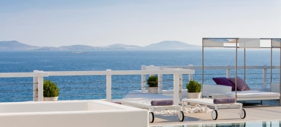 $ Based on 2 people per night | Boutique Mykonos hideaway with sparkling Aegean vistas, Grace Mykonos, Greece