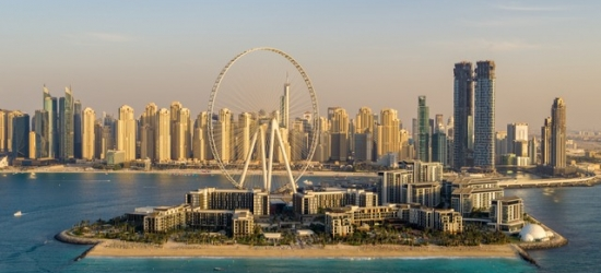 $ Based on 2 people per night | Glitzy new Dubai hotel on a private beach, Caesars Palace Bluewaters Dubai, UAE