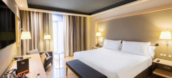 $ Based on 2 people per night | Sleek hotel in a perfect Barcelona location, Hotel Jazz, Spain