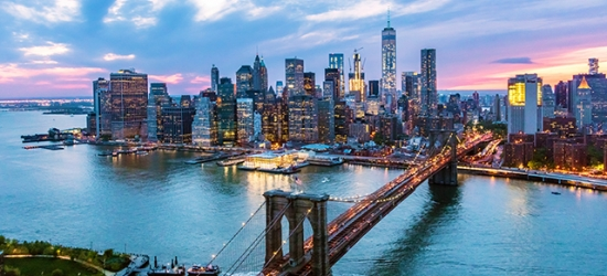 $ Based on 2 people per night | Chic 5* NYC stay at a Wall Street pad, New York, USA
