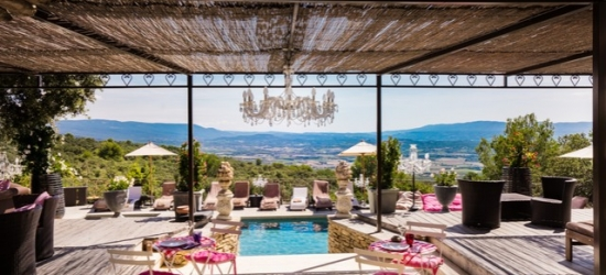 $ Based on 2 people per night | Lovely Provençal charmer with gardens & orchards, Le Petit Palais d'Aglaé, Provence, France