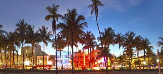 Based on 2 people per night | Hip Collins Avenue hotel a block from the beach, Red South Beach Hotel, Miami