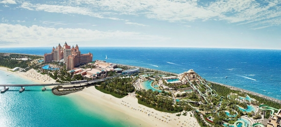 Dubai: luxury beach break w/sea view & water park tickets
