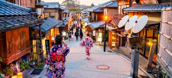 14-nt Japan tour, excursions & rail pass