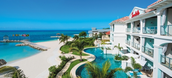 Sandals Montego Bay: luxury ultra all-inc Jamaica w/flights