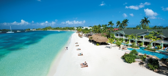 Sandals Negril: luxury all-inc Jamaica holiday w/flights