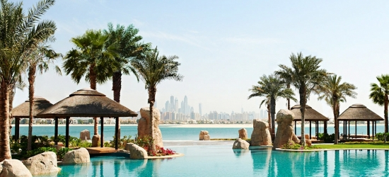 Dubai: 5-star beach break w/meals & kids stay free, 57% off