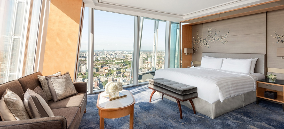 Win a sky-high luxury break at the Shangri-La Hotel in The Shard