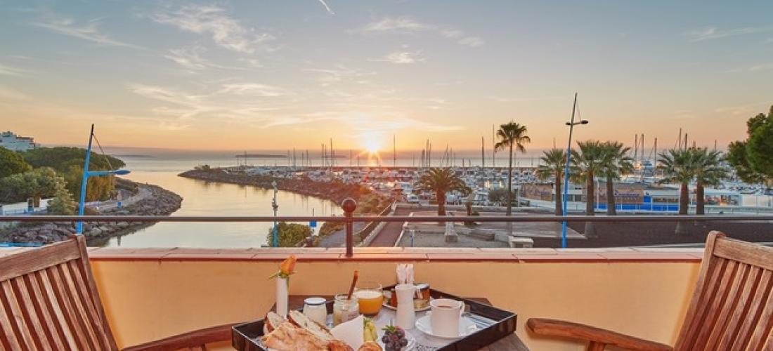 $ Based on 2 people per night   Boutique Cote d'Azur hotel near Cannes, Hotel Ermitage de l'Oasis, Mandelieu-la-Napoule, French Riviera