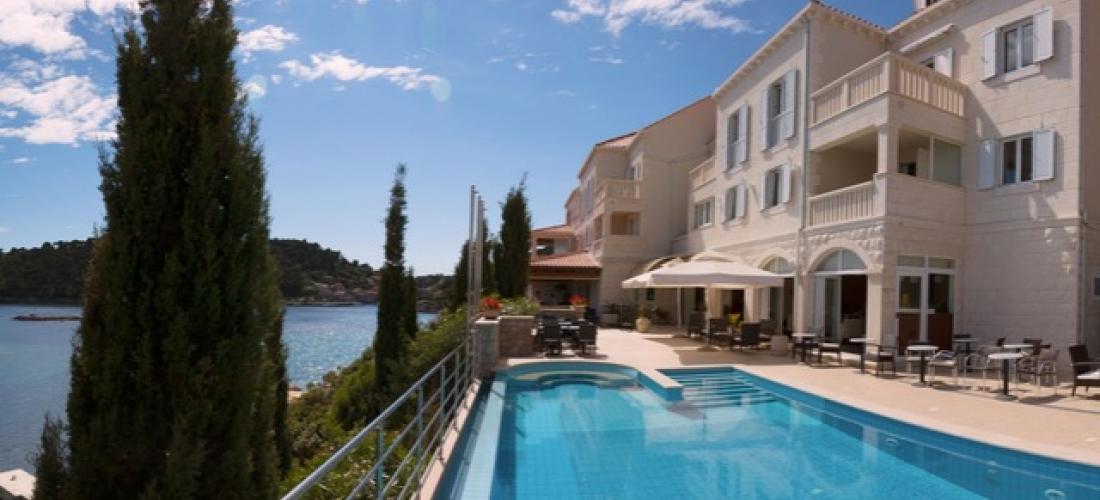 $ Based on 2 people per night   Blissful Croatia island stay with sparkling sea views, Hotel Bozica Dubrovnik Islands, Croatia