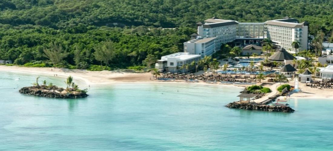 $ Based on 2 people per suite per night   Stunning all-inclusive Montego Bay beach resort, Royalton White Sands Resort, Caribbean