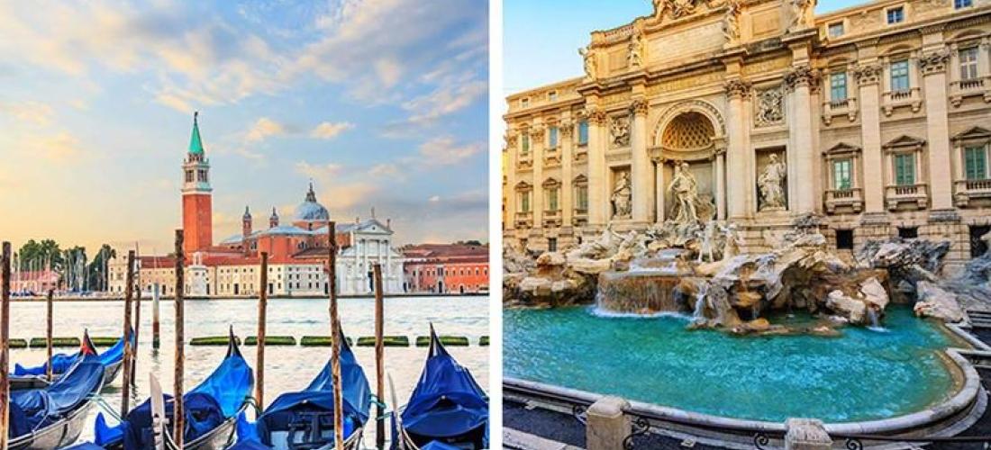 Rome & Venice Multi-City Escape, Breakfast