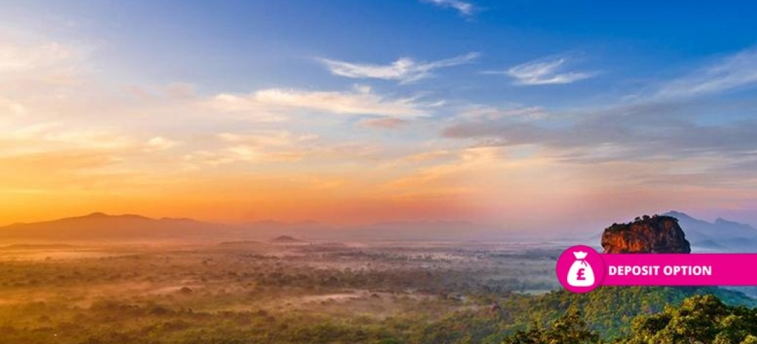 Sri Lanka Tour & Hotel Break - Rock Fortress, Spice Gardens & More!