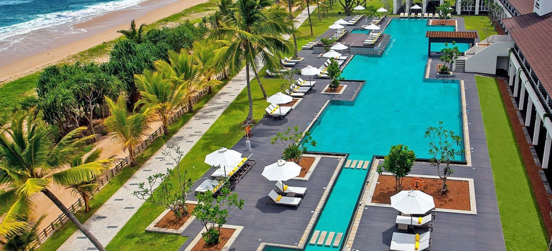 Sri Lanka: deluxe beach holiday w/meals & kids eat for free