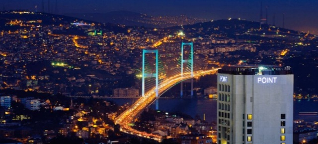$ Based on 2 people per night | 5* contemporary Istanbul hotel, Point Hotel Barbaros, Turkey