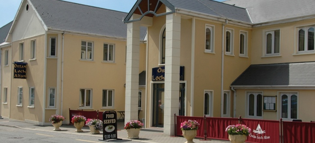 Co. Donegal: 1, 2 or 3 Nights for Two with Breakfast and a Two-Course Dinner on First Night at Ostan Loch Altan