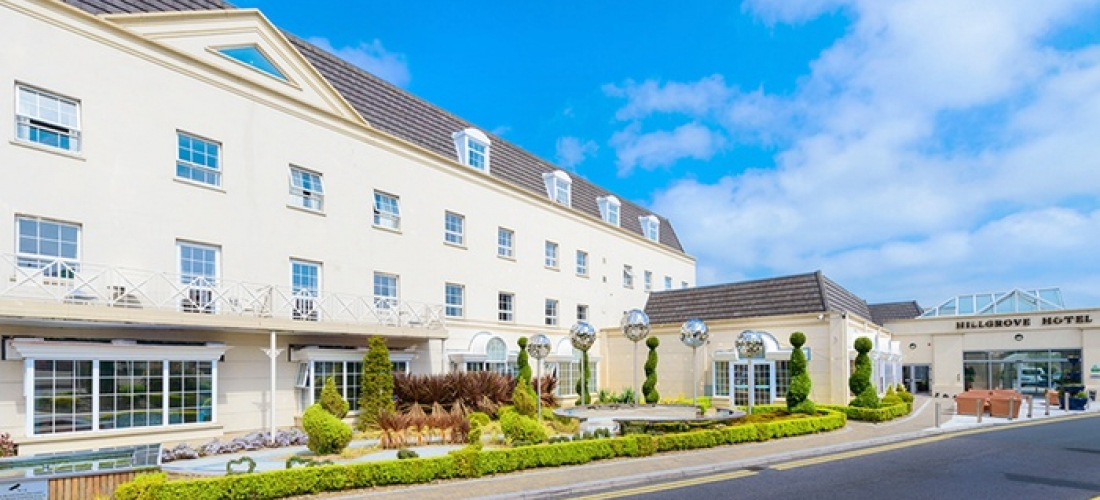 Monaghan: 1-3 Nights For Two with Breakfast, Dining and Spa Vouchers and 60-Minute Thermal Access at The Hillgrove Hotel
