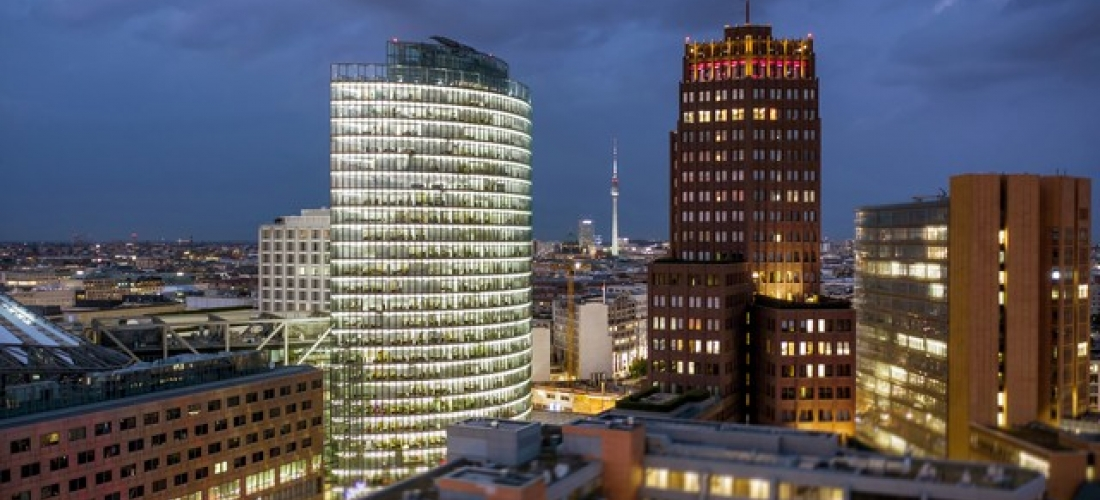 $ Based on 2 people per night | Stylish Berlin hotel in vibrant Kreuzberg, Mövenpick Hotel Berlin, Germany