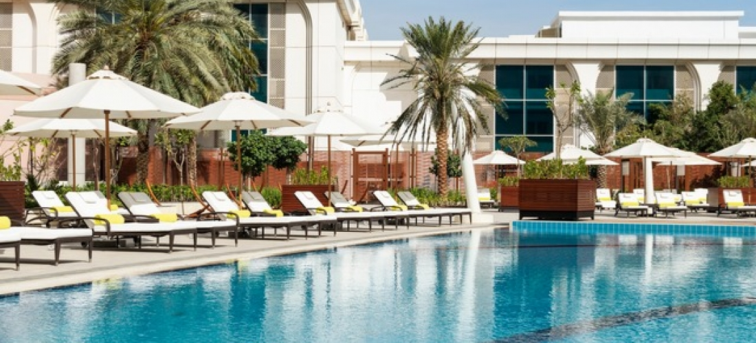 Based on 2 people per night | 5* Abu Dhabi landmark right by the Corniche, Le Royal Méridien Abu Dhabi, UAE