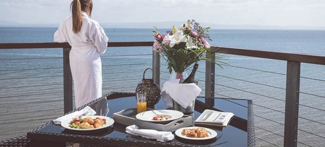 Co. Donegal: 1-2 Nights for 2 with Breakfast, Golf, and Dining & Spa Credit at 4* Redcastle Oceanfront Golf & Spa Hotel