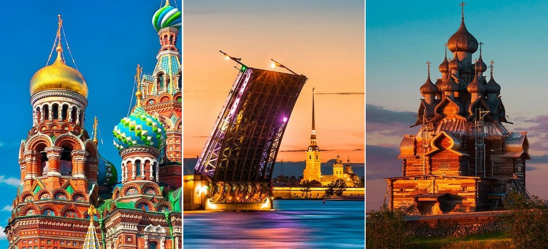 Russia: Moscow to St.Petersburg Volga Cruise