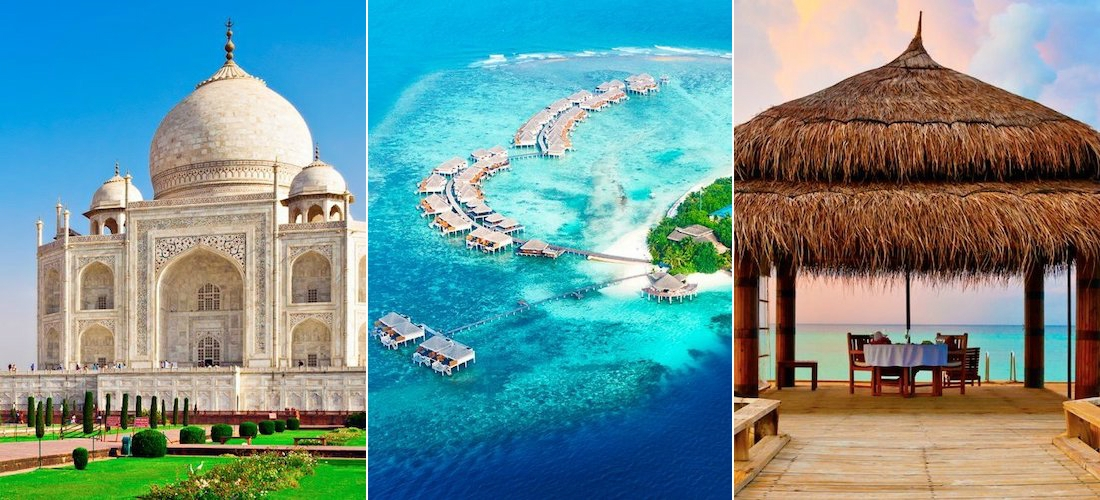 India & Maldives: Golden Triangle & All-Inclusive Indian Ocean