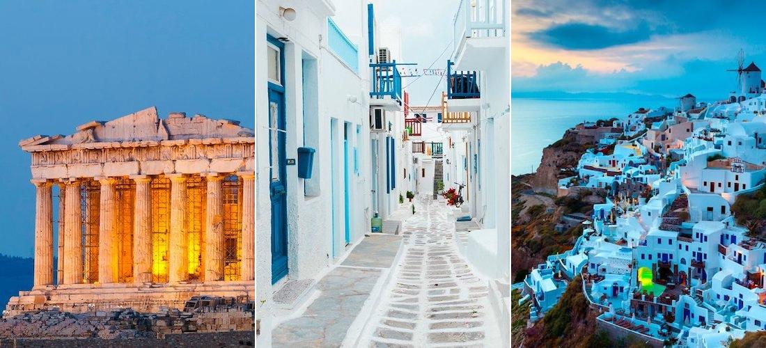 Greece: Athens, Mykonos & Santorini