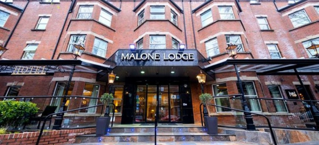 Belfast: 1-3 Nights for Two with Breakfast, 2-Course Dinner, Prosecco and Late Check-Out at Malone Lodge Hotel