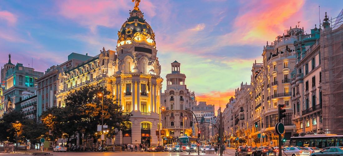 Central Madrid City Getaway