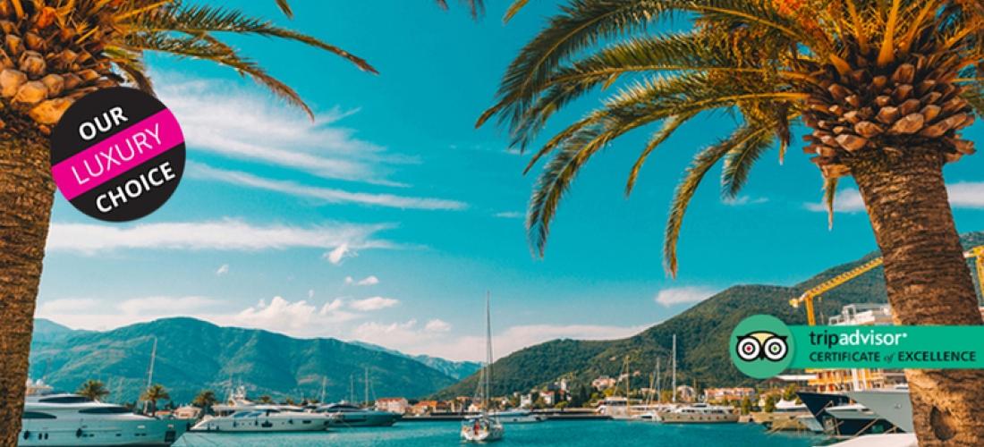 4* Montenegro Beach Escape & eturn Flights - Seafront Hotel!