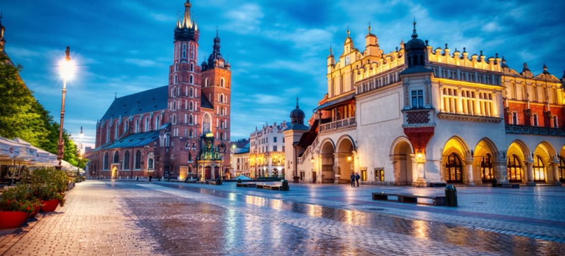 4* Krakow City Getaway, Breakfast  - Optional Tour!