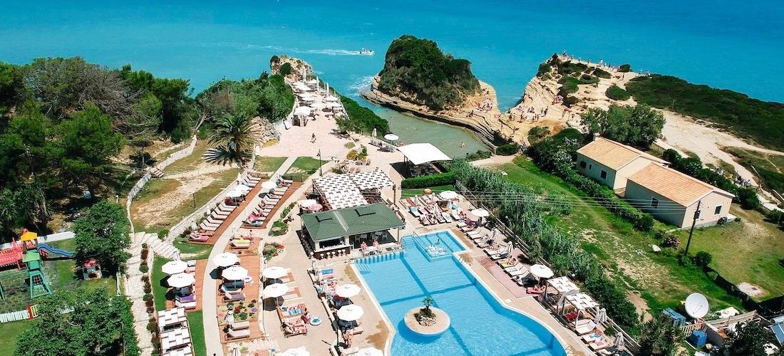 4* deluxe half-board Corfu getaway w/flights