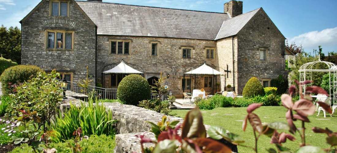 1-2nt South Wales Countryside Stay & Award-Winning Dining for 2