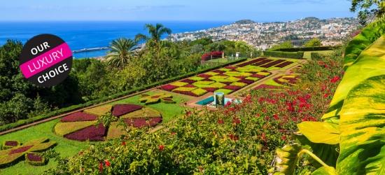 5* Central Half-Board Funchal, Madeira Getaway