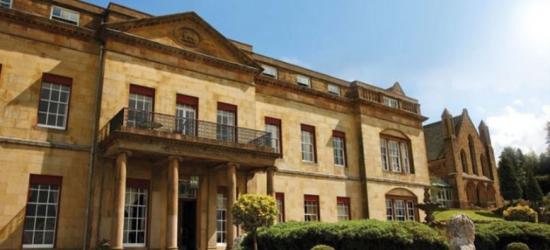 4* Shrigley Hall Stay, Dinner & Wine for 2 - Afternoon Tea Option!
