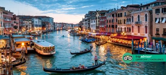 4* Venice City Escape, B'fast  - Award-Winning Hotels!