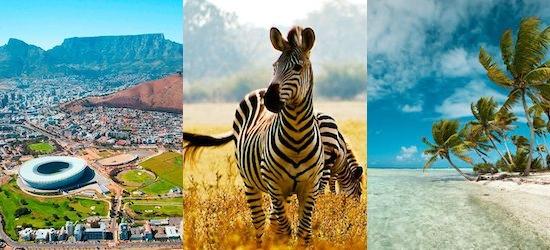 South Africa & Mauritius: Cape, Kruger & all-inclusive island escape