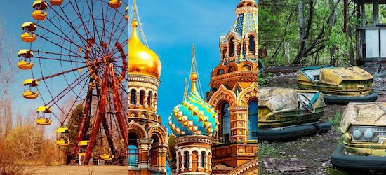 Russia & Ukraine: Imperial Cities & Road to Chernobyl