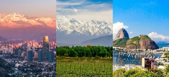 Chile, Argentina & Brazil: Cities & Natural Wonders of South America