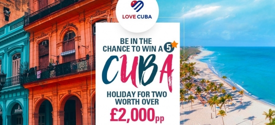 Win a five-star holiday to Cuba for two - worth over £4,000