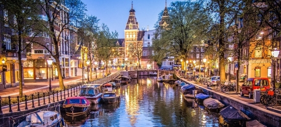 Win a short break for two to Amsterdam
