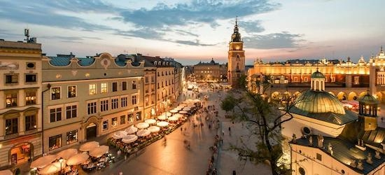 4* Krakow: 2 nights + flights