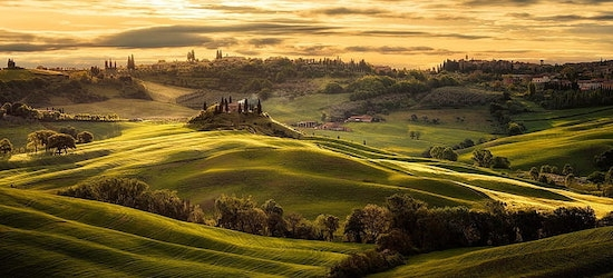 4* Tuscany escape including car hire