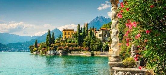 4* Lake Como getaway w/breakfast & flights